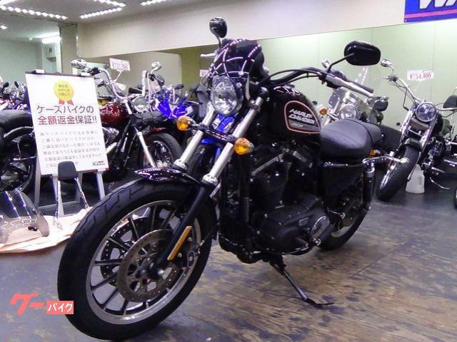 HARLEY-DAVIDSON XL883R 2014年 ノーマル メーターバイザー装着の画像(大阪府