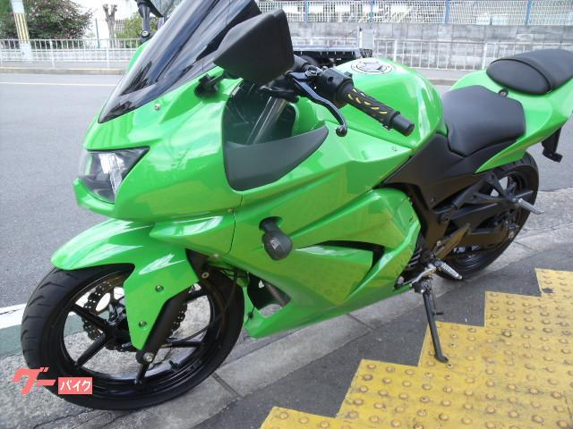 カワサキ Ninja 250R 社外スリップオンマフラーの画像(大阪府