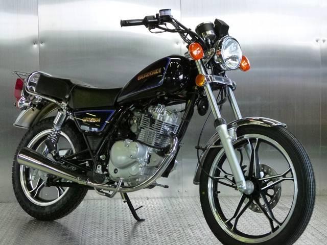 GN125H クラシックネイキッド ブラックカラーSPL