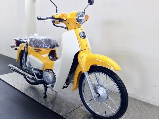 ホンダ スーパーカブ50 新車 2018年モデル 丸目ヘッドライトの画像(兵庫県
