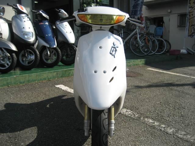 ホンダ ライブDio ZX  ホワイト外装新品の画像(兵庫県