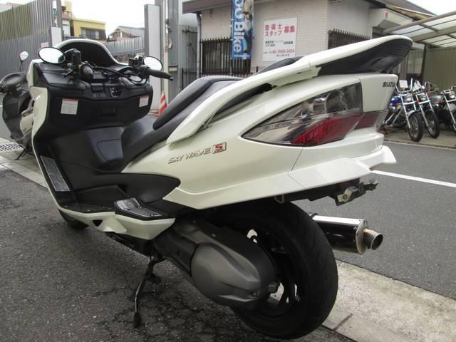 スズキ スカイウェイブ250 タイプS CJ46A ちょいカスタム ワンオーナー車の画像(大阪府