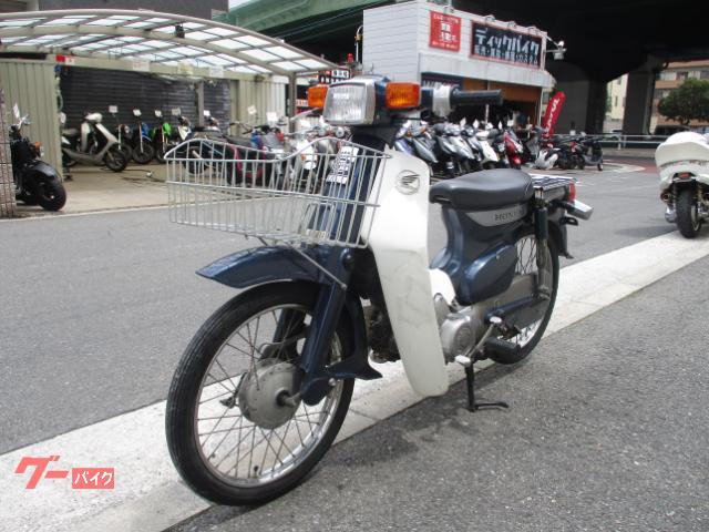 ホンダ スーパーカブ50カスタム C50型1992年モデル セル付4速 タイヤ前後新品の画像(大阪府
