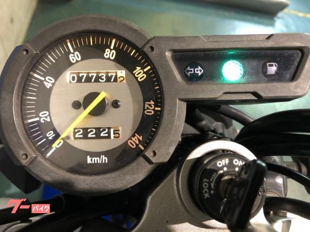 ヤマハ トリッカー FI センターアップマフラー 前後タイヤ新品の画像(京都府