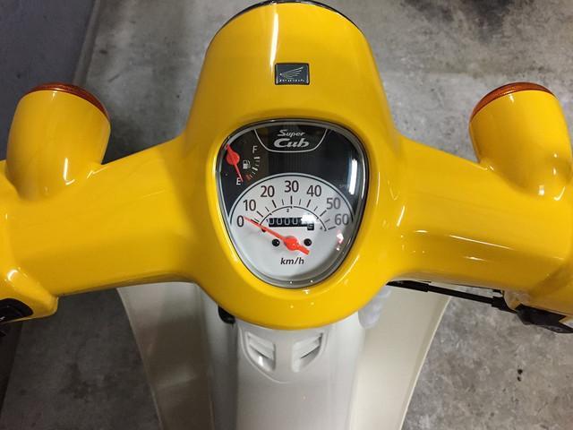 ホンダ スーパーカブ50 国内最新モデル LEDヘッドライトの画像(兵庫県