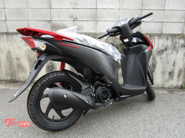 ホンダ Dio110 新車 現行最新モデル マットブラックの画像(兵庫県