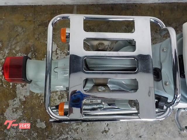 ホンダ リトルカブ セル付き4速インジェクションモデル 大型リヤキャリアの画像(兵庫県