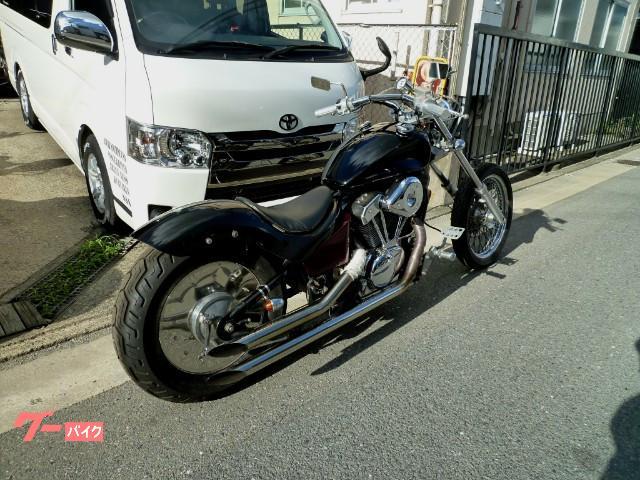 ホンダ スティード400 ローロングスタイルの画像(大阪府