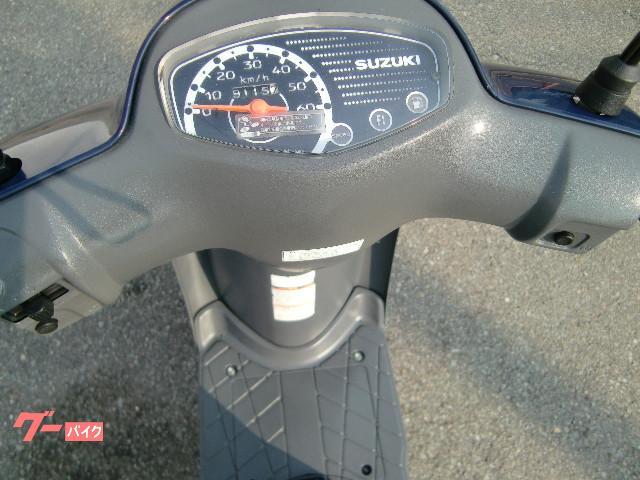 スズキ レッツ4 バッテリー新品 タイヤ前後新品 グリップ左右新品の画像(兵庫県