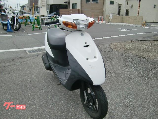 スズキ レッツII タイヤ新品 駆動系新品 グリップ新品 純正キー2本の画像(兵庫県