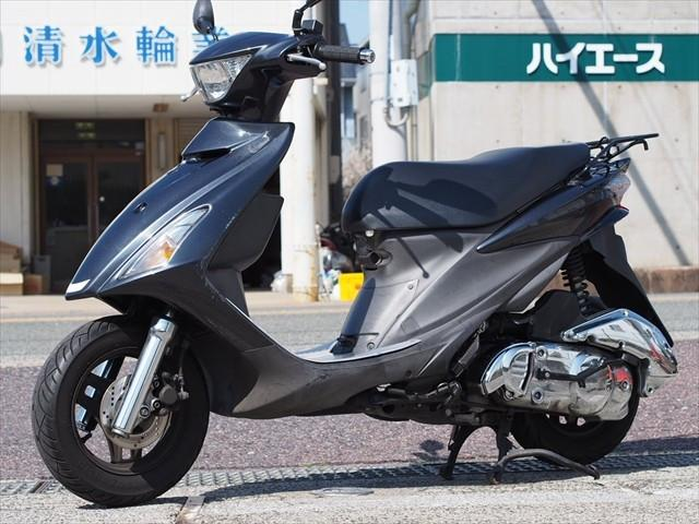 スズキ アドレスV125S グリップヒーター メッキカスタムの画像(和歌山県