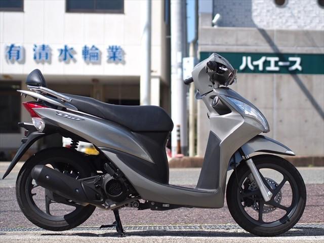 ホンダ Dio110 ナックルガード バックレスト付きの画像(和歌山県