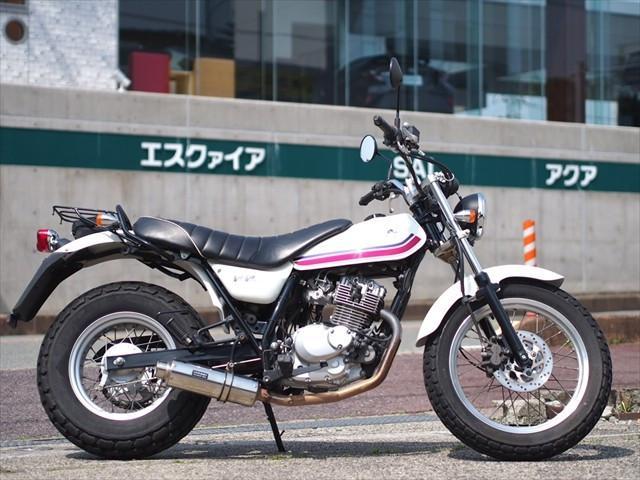 スズキ バンバン200 FI インジェクションモデル 社外マフラー付きの画像(和歌山県