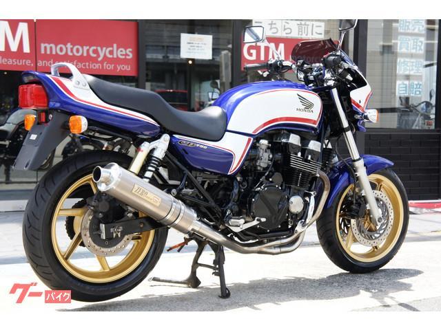 ホンダ CB750 モリワキマフラー エンジンガード グリップヒーターの画像(兵庫県