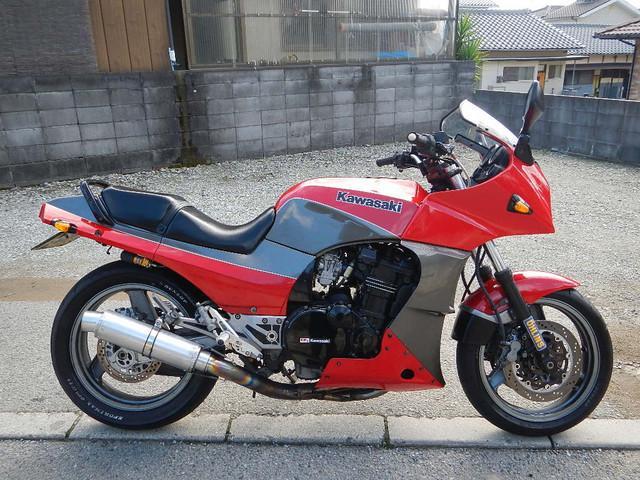 カワサキ GPZ900R A10  オーリンズ 社外マフラーの画像(兵庫県