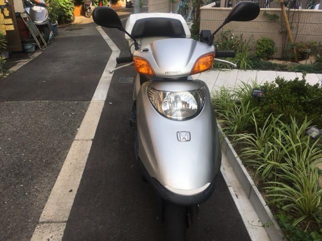 ホンダ スペイシー100 グリップヒーター リアBOX付の画像(大阪府
