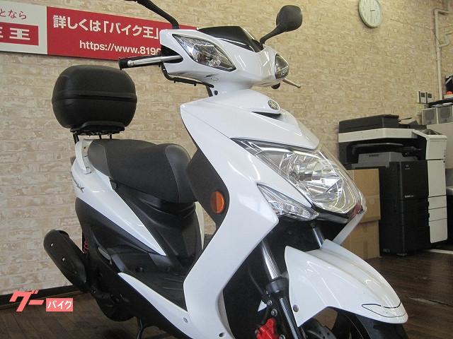 ヤマハ シグナスX SR 2015年モデル ワンオーナー リアボックスの画像(大阪府