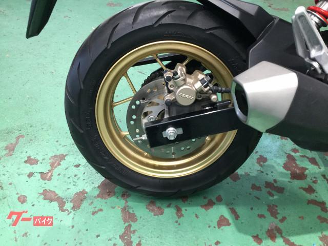 ホンダ グロム 2017年式モデル フルノーマル ヘルメットロック付きの画像(大阪府