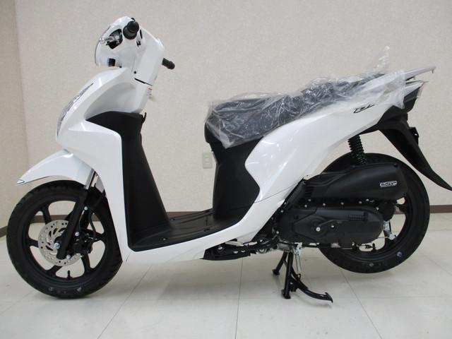 ホンダ Dio110 現行モデル新車 eSPエンジン搭載 アイドリングストップ機能の画像(大阪府