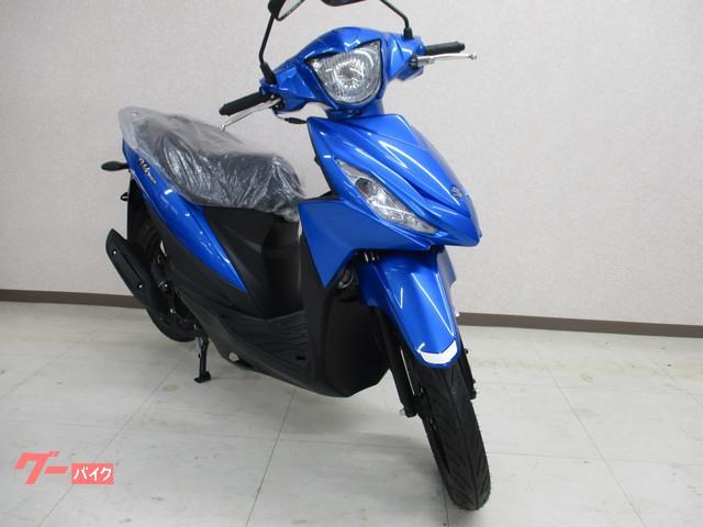 スズキ アドレス110 現行新車 インジェクションモデル SEPエンジン搭載の画像(大阪府