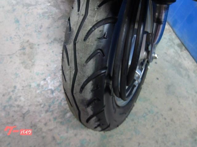 ホンダ Dio FI 前後タイヤ新品 ブラックの画像(大阪府