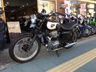 カワサキ W400 最終型 ポッシュ製フルエキマフラー エンジンガード他カスタム多数の画像(京都府