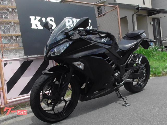 カワサキ Ninja 250 EX250L型 ヘルメットロックの画像(大阪府