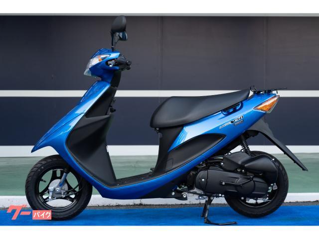 スズキ アドレスV50 最新モデル トリトンブルーメタリックの画像(大阪府