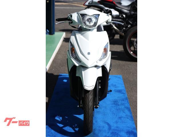 スズキ アドレス110 ブリリアントホワイトの画像(大阪府