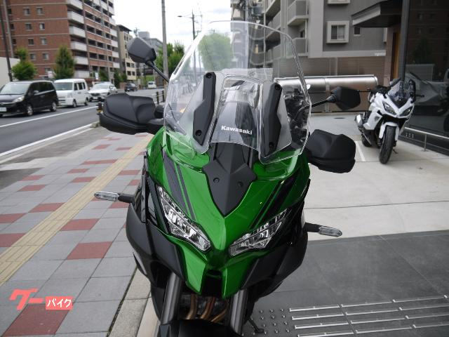 カワサキ Versys 1000 SE スカイフックサス搭載の画像(京都府