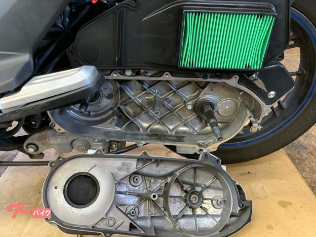 ホンダ PCX インジェクションモデル カスタムマフラー 駆動系点検済み ウエイトローラー新品 エアクリーナー新品 NGKプラグ新品の画像(和歌山県