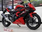 カワサキ Ninja 250SL 2015年モデル バーハンドル仕様 ヘルメットロックの画像(京都府