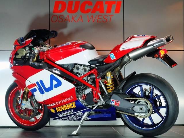 DUCATI 999FILA 2003チームカラー世界限定車 フルエキEU仕様の画像(大阪府