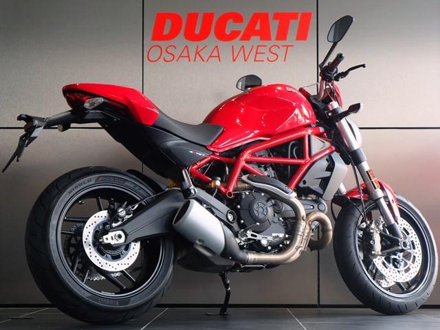 DUCATI モンスター797 プラス 現行モデル ロッソドゥカティ 新車の画像(大阪府