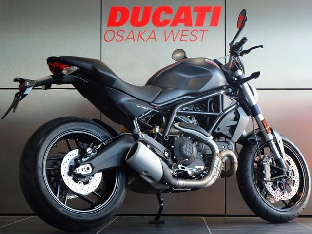 DUCATI モンスター797 プラス 現行モデル ダークステルス 新車の画像(大阪府