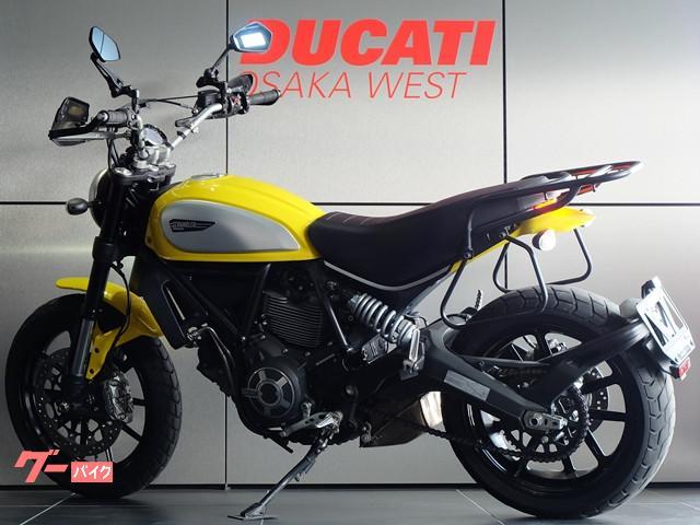 DUCATI スクランブラーアイコン MY2017 ETC付き前後新品タイヤの画像(大阪府