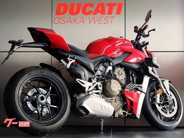 DUCATI ストリートファイターV4 2021モデルEURO5 新車の画像(大阪府