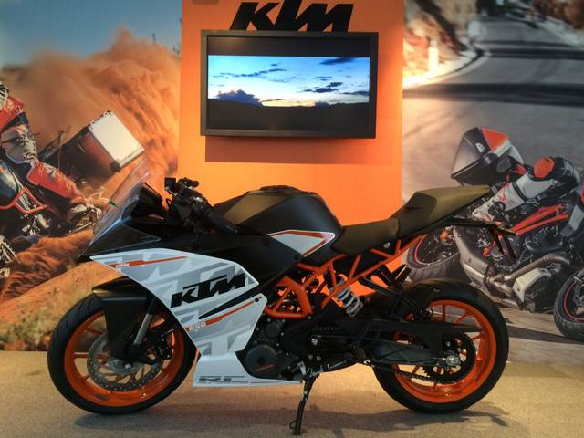 KTM RC250 KTMジャパン正規車両の画像(京都府