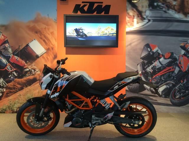 KTM 390デューク ABS搭載の画像(京都府