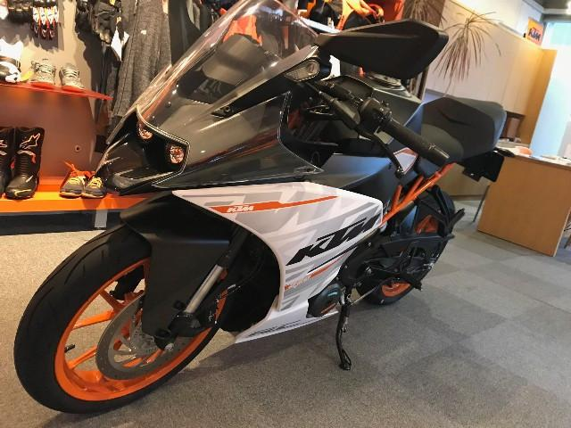KTM RC250 KTM正規車 ABS搭載の画像(京都府