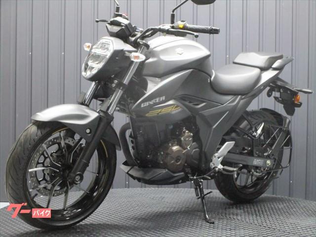 スズキ GIXXER 250 ABS付き インドSUZUKI 2021マットブラックの画像(京都府