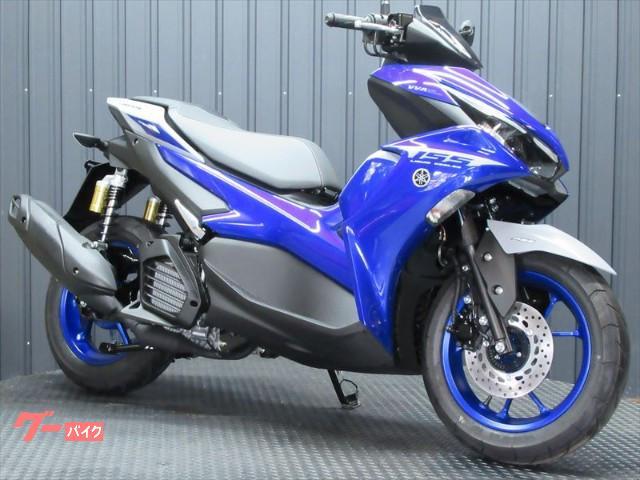 AEROX155 MY2021 最新ABSモデル ブルーカラー