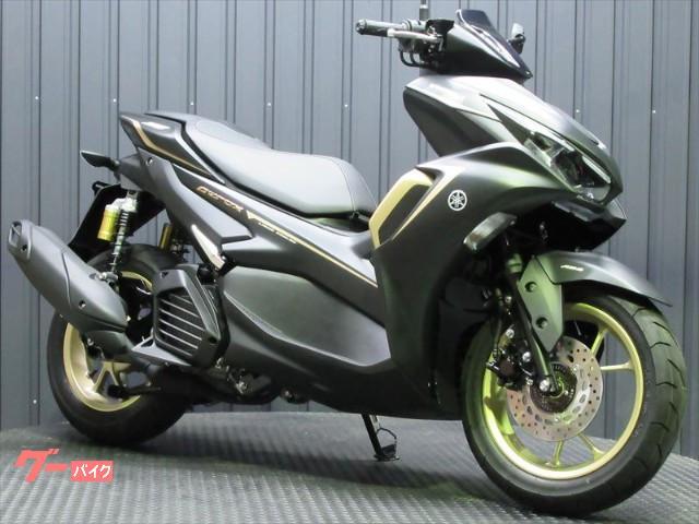 AEROX155 MY2021 最新ABSモデル ブラックゴールドカラー