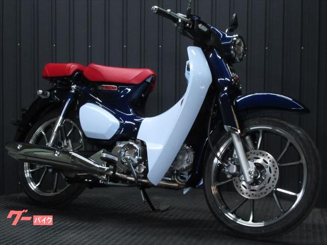 スーパーカブC125 インポート ダブルシートモデル ブルーカラー