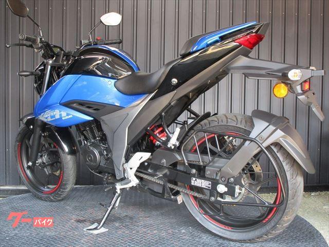 スズキ GIXXER 150 ABS インドSUZUKI ブルーカラーの画像(大阪府