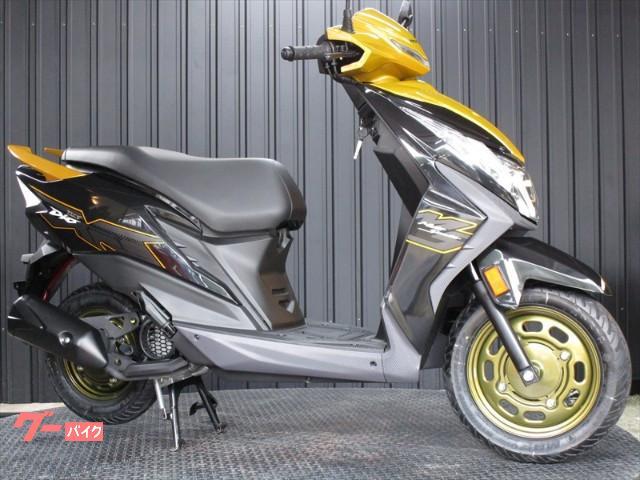 Dio110DX インドHONDA インジェクションモデル イエローカラー