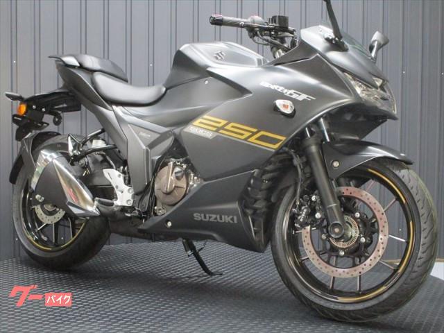 GIXXER SF 250 ABS付き インドSUZUKI 2021年マットブラック
