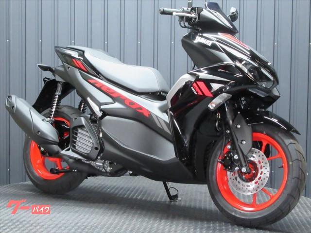 AEROX155 MY2021 最新スタンダードモデル ブラックレッドカラー