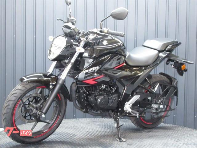 スズキ GIXXER 150 ABS インドSUZUKI 2021ブラックカラーの画像(兵庫県