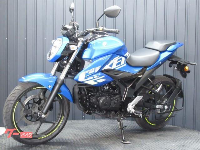 スズキ GIXXER 150 ABS インドSUZUKI 2021ブルーカラーの画像(兵庫県